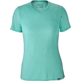 Patagonia Capilene Daily T-Shirt Femme, strait blue-bend blue x-dye